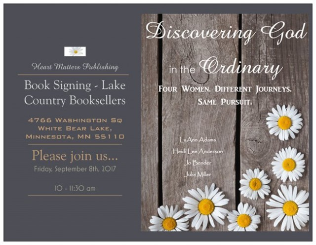 Lake Country Booksellers - Book signing